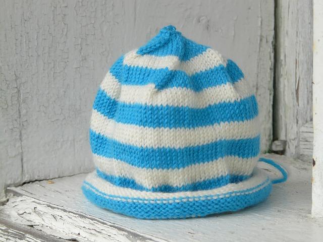 czapki handmade dla dzieci